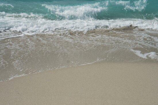 ocean, foam, tropical, water, seashore, wave, surf, sea