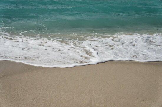 sand, sea, wave, ocean, foam, water, surf, travel