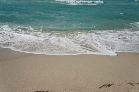 oceanu, piasek, wody, morze, pianki, pobrzeże, Seascape, Plaża