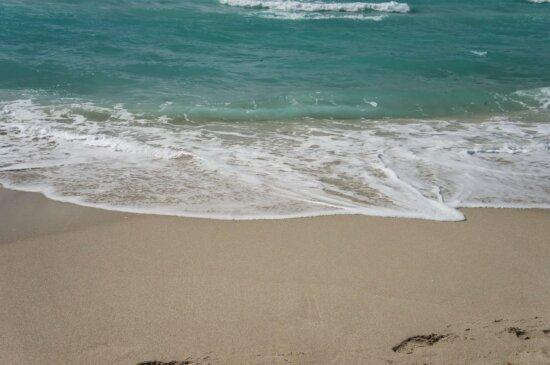 Ozean, Sand, Wasser, Meer, Schaum, Seashore, Seenlandschaft, Strand