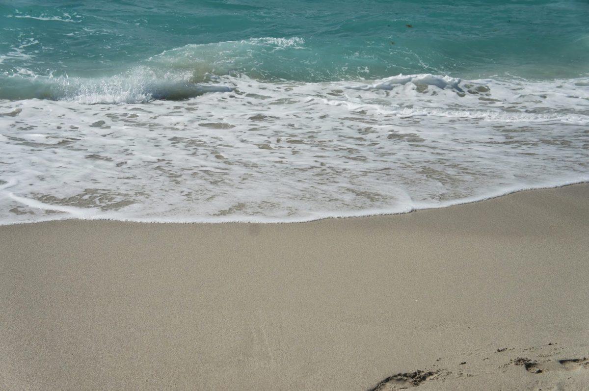 пяна, океан, плаж, пясък, вода, вълна, морския бряг, море