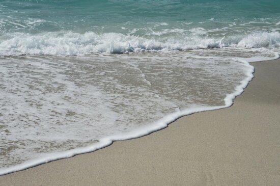 Tide, Gezeitenwasser, Seashore, Ozean, Schaum, Meer, Sand, Surfen