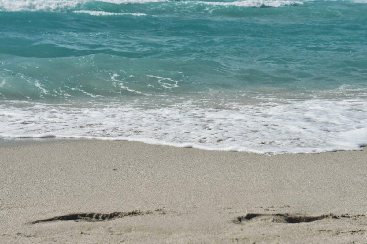 хубаво време, приливна вода, пясък, вода, океан, морския бряг, вълна, плаж