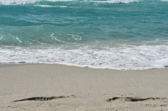 Schönwetter, Gezeitenwasser, Sand, Wasser, Ozean, Seashore, Welle, Strand