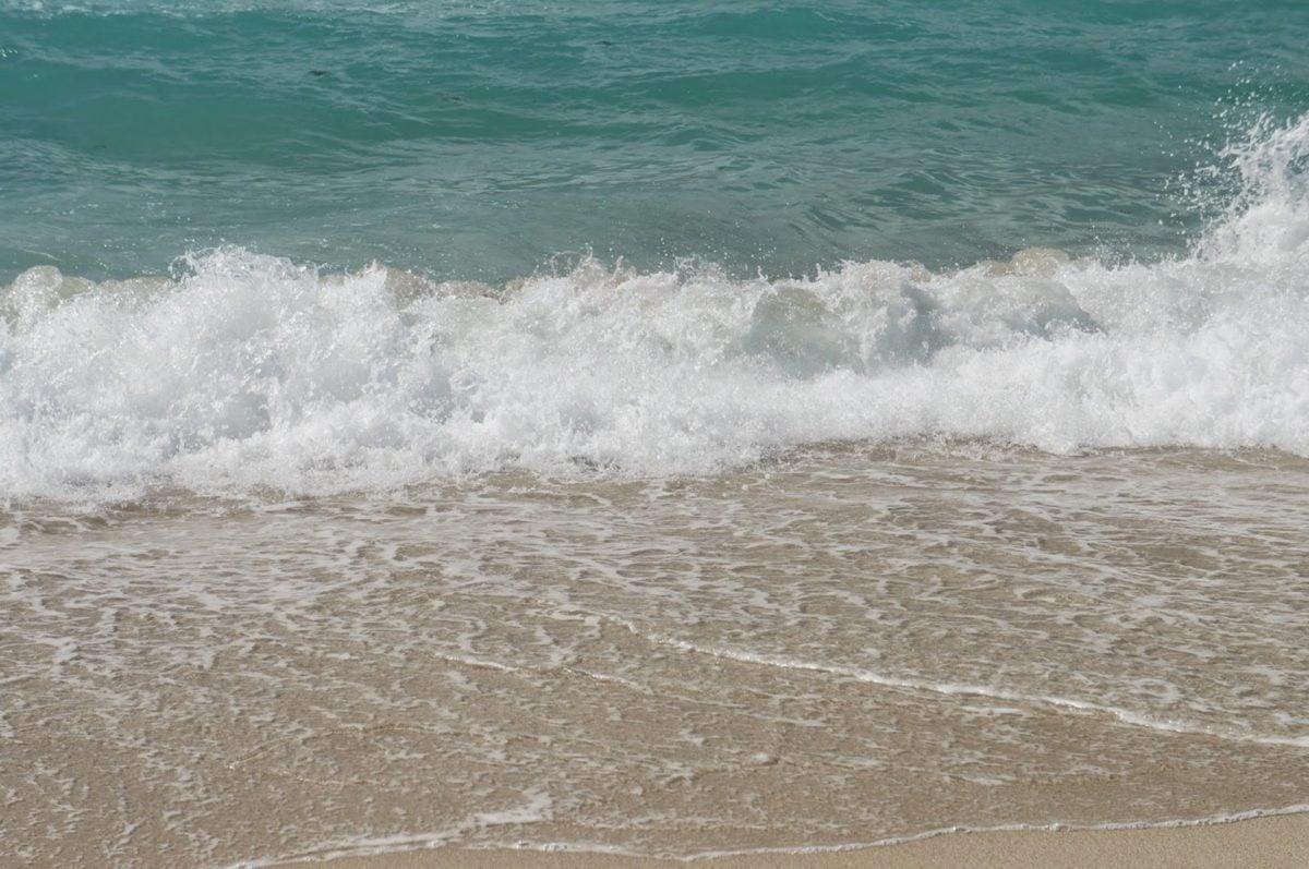 óceán, víz, strand, tenger, hullámok, szörfözés, tengerpart, hab