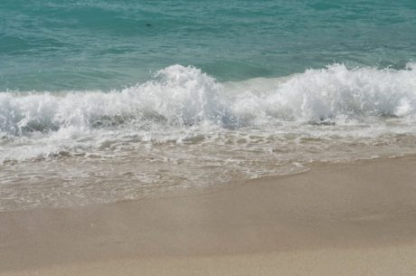 плаж, вълни, пяна, океан, вълна, вода, морския бряг, море