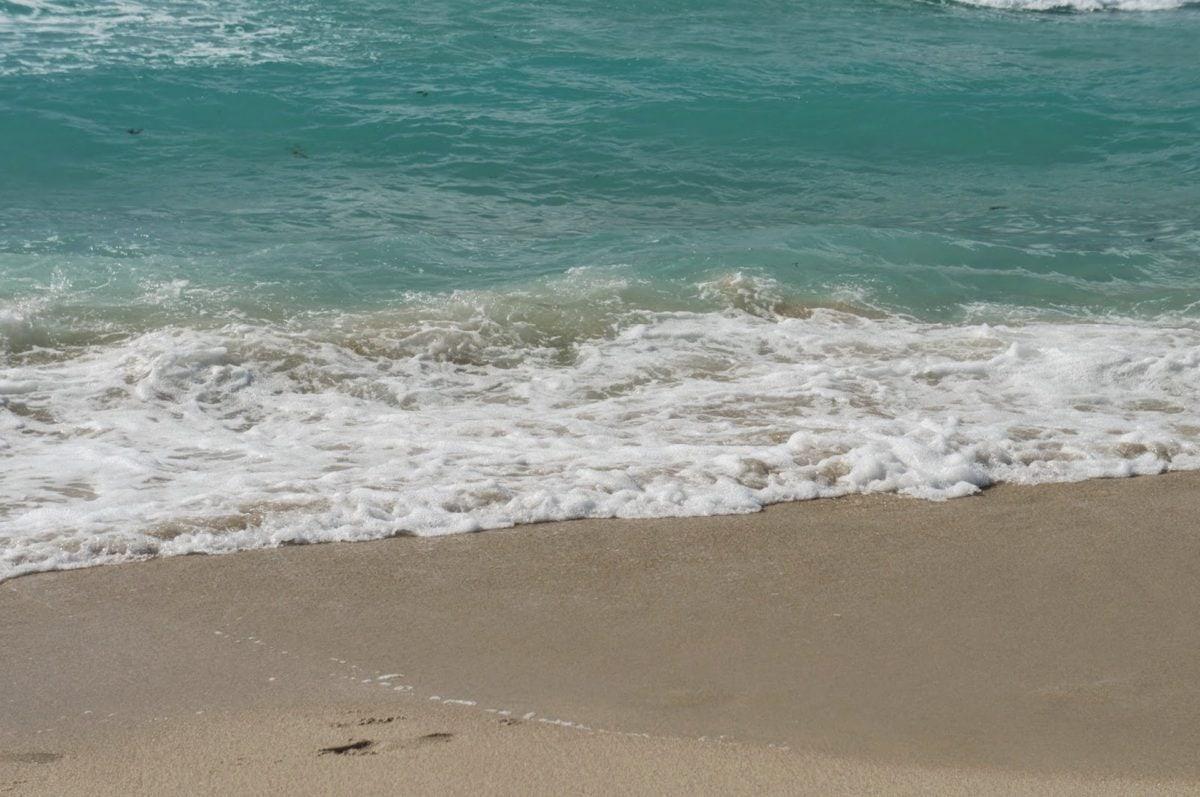 přílivové vody, moře, oceán, písek, pláž, voda, vlna, surfování