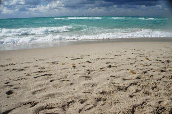Ökotourismus, Schönwetter, Horizont, Insel, Strand, Grat, Sandbank, Meer