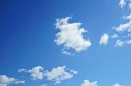 ozon, luft, vejr, sky, natur, atmosfære, overskyet, skyer