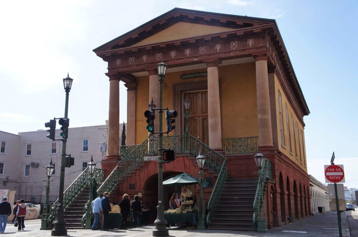 群衆, 博物館, 人々, 階段, 階段, 階段, バルコニー, 構築