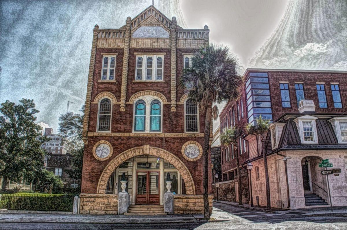 университет, сграда, фасада, архитектура, стар, град, пътуване, къща