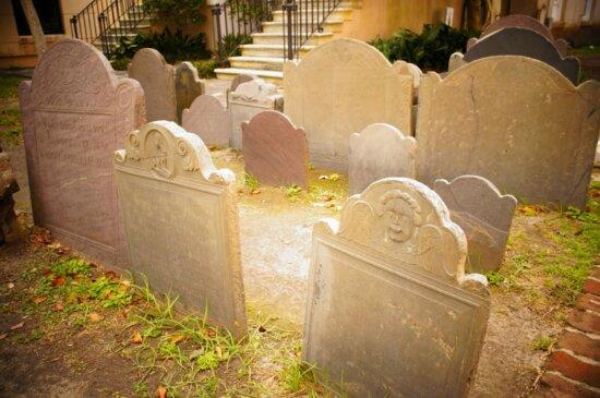 funeral, gravestone, cemetery, grave, tombstone, garden, burial, yard