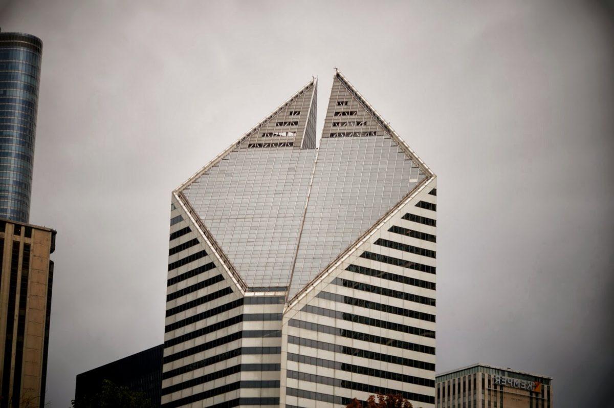 кула, град, офис, висок, сграда, небостъргач, архитектура, бизнес