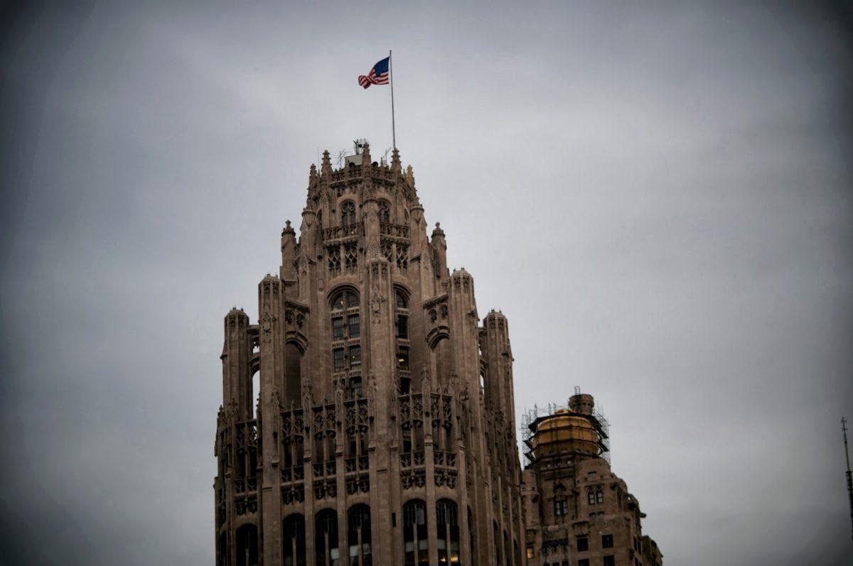 Amerika, vlag, parliament, Verenigde Staten, toren, het platform, gebouw, mijlpaal