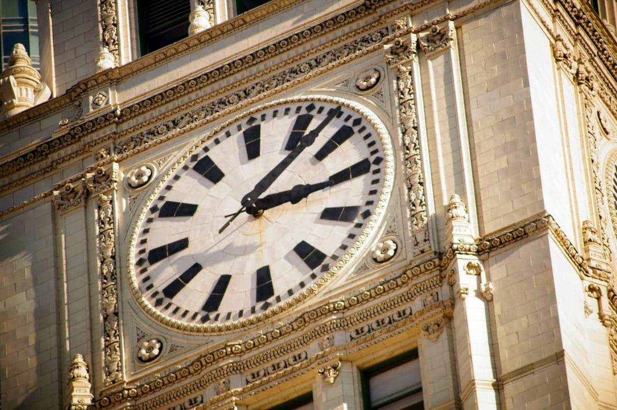 art, Château, L'Angleterre, extérieur, façade, horloge, montre, temps