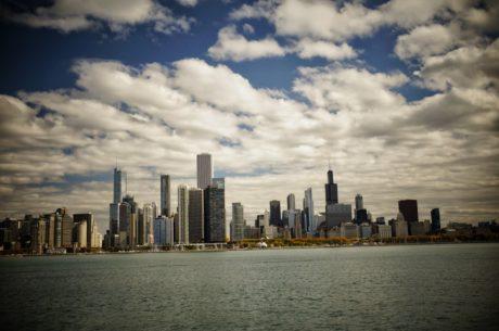 panoráma města, mrakodrap, město, centrum města, Panorama, architektura, mrak, budova