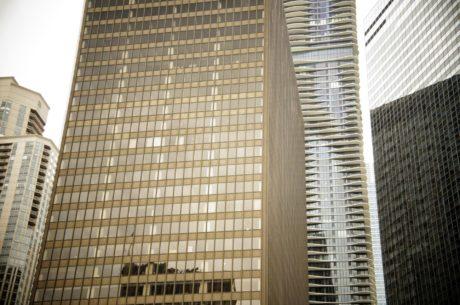 nowoczesny, Biuro, architektura, budynek, Drapacz chmur, Miasto, okno, biznes