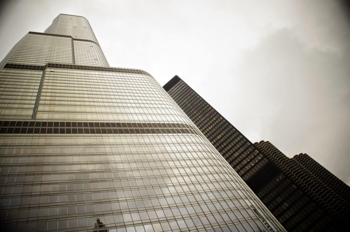 перспектива, облак, архитектурен стил, архитектура, сграда, сгради, бизнес, бизнес град