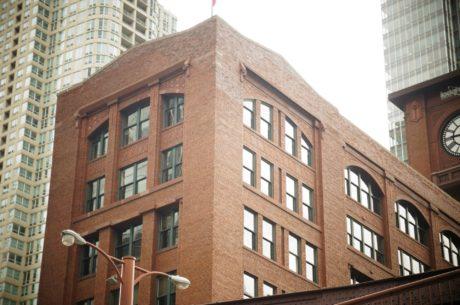облак, апартамент, архитектурен стил, архитектура, тухла, сграда, сгради, бизнес