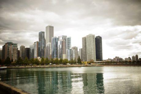 облак, архитектурен стил, архитектура, мост, сграда, сгради, бизнес, бизнес град