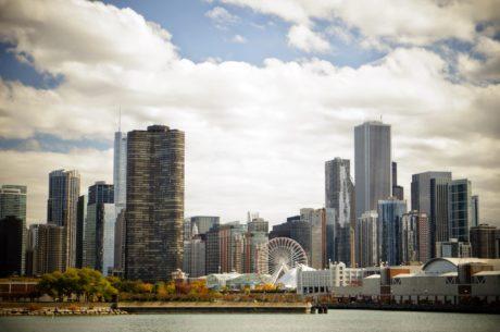panoráma města, centrum města, mrakodrap, budova, Panorama, město, architektura, financování