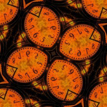 klokke, analog klokke, abstrakt, mønster, tekstur, bakgrunn, runde, kunst