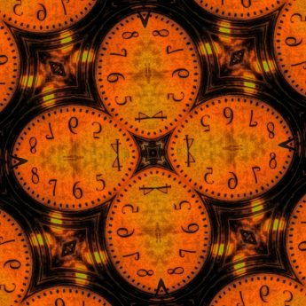 clock, abstract, pattern, retro, texture, wallpaper, decoration, art