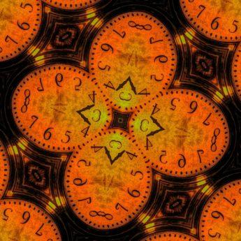 Stunde, abstrakt, Uhr, Minute, Uhr, Zeit, Uhr, Muster