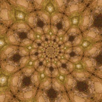 Arabesque, cluster, fantasie, geometrische, patroon, achtergrond, abstract, plant