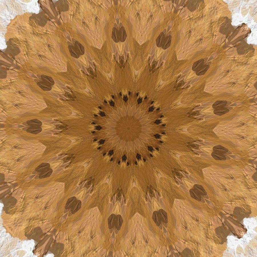 arabeska, barok, krug, svijetle, boja, dizajn, tekstura, Sažetak