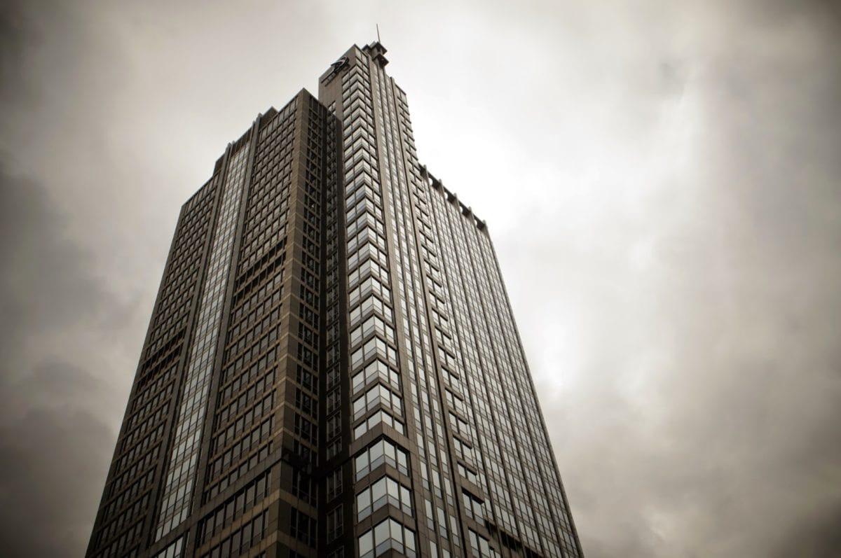 arkitektur, tårn, city, skyskraber, bygning, kontor, urban, centralforretningskvarter