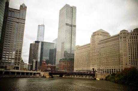 byen, kontor, skyline, arkitektur, bybildet, bygge, skyskraper, sentrum
