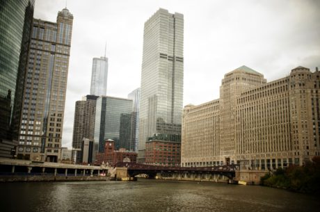 wolkenkrabber, gebouw, gezichtseinder, stad, stadsgezicht, het platform, kantoor, centrum