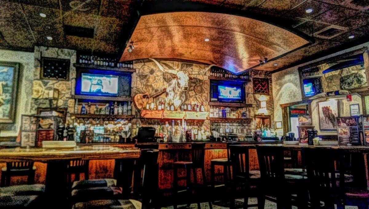 seni rupa, dekorasi interior, lukisan cat minyak, photomontage, Restoran, bangunan, di dalam ruangan, Kota
