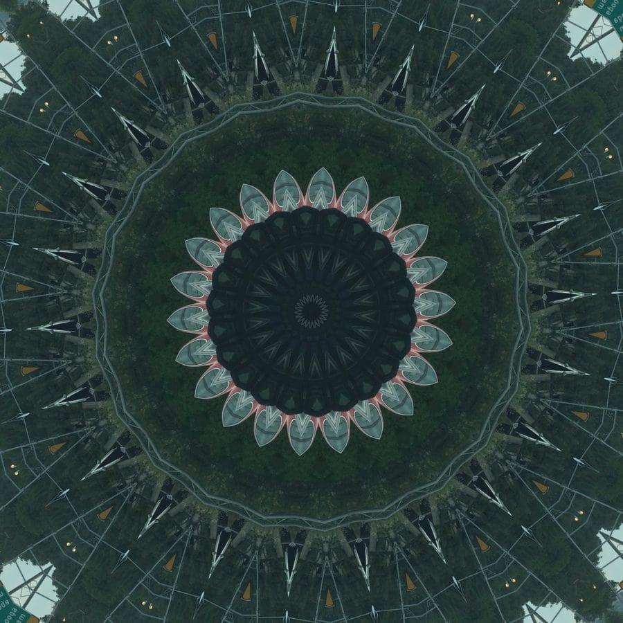 Вихър, абстрактни, фентъзи, модел, нереално, кръг, тапети, дизайн