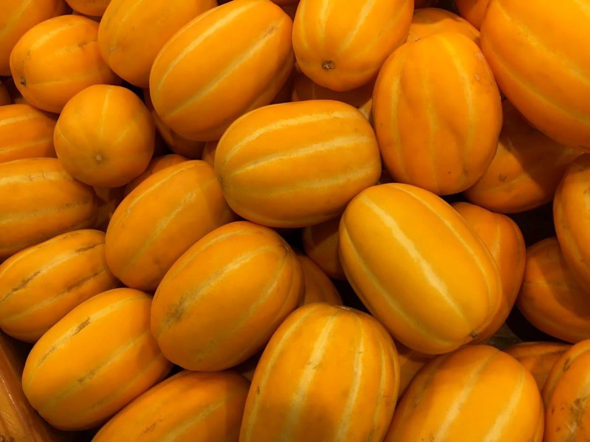 Melone, Produkte, Obst, Gemüse, Tomaten, Essen, viele, größer werden