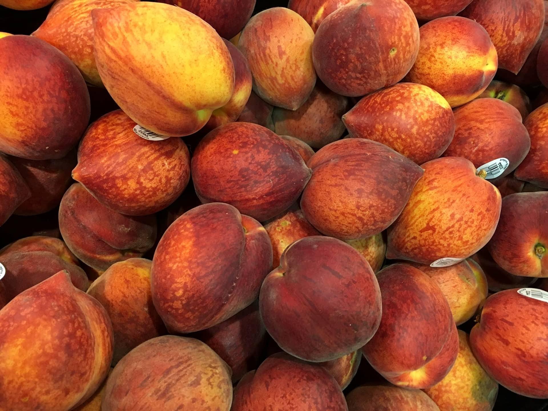 Darmowy Obraz Brzoskwinia Owoce Produkcji Jedzenie Zdrowe