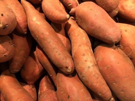 vegetable, market, root, sweet potato, produce, food, grow, farming