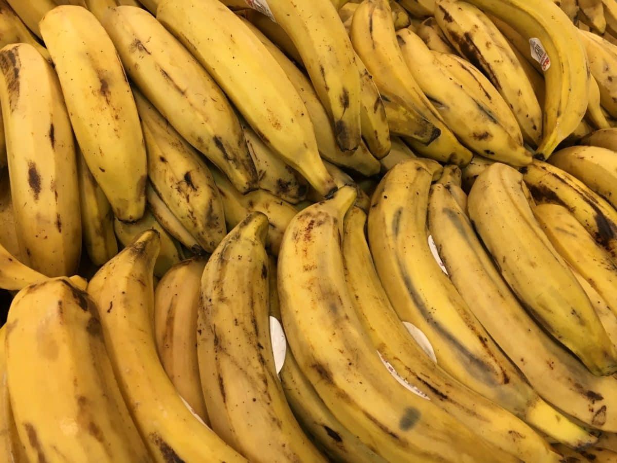 marktplaats, produceren, vrucht, plantaardige, voedsel, banaan, groeien, bos
