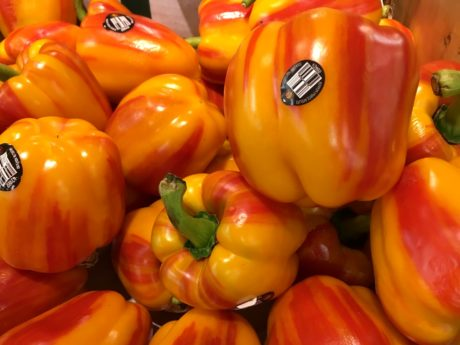 bell pepper, market, marketplace, vegetables, pepper, vegetable, healthy, vegetarian