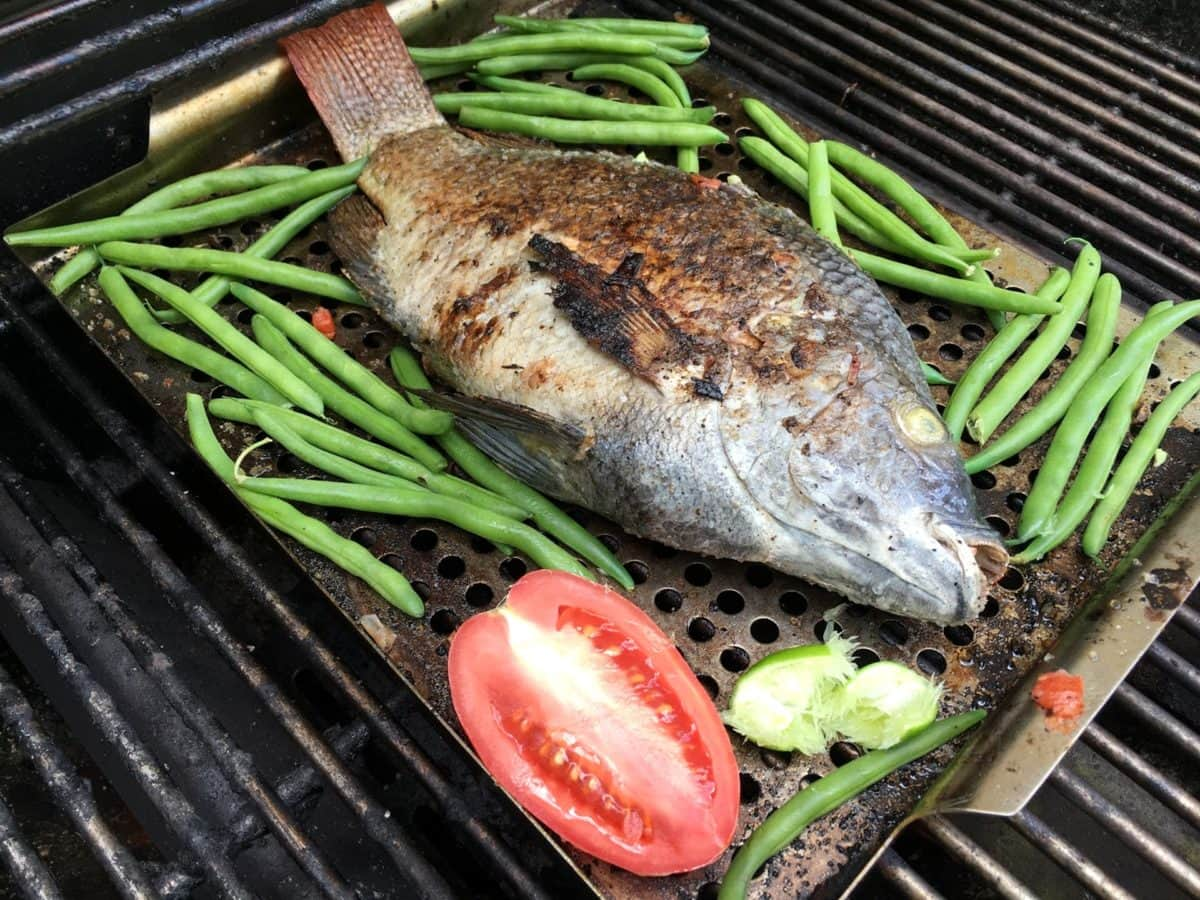 Барбекю, Филе, Рыба, мальков рыб, жаркое, мясо, овощной, питание