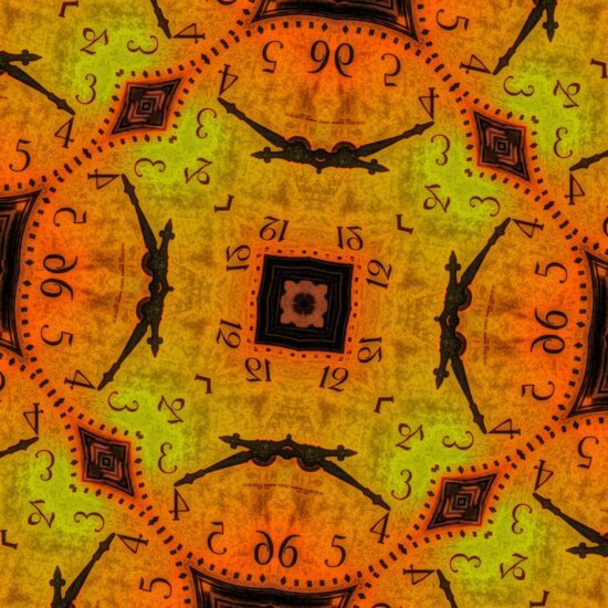 fantasy, ornament, clock, jigsaw puzzle, time, art, old, pattern