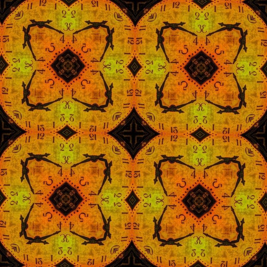 cirkel, mozaïek, abstract, patroon, kunst, textuur, behang, artistieke