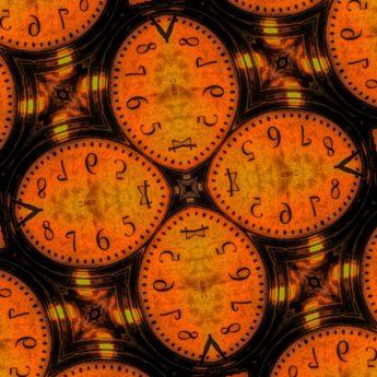 Arabesque, deformovaný tvar, fotomontáž, tvar, analogové hodiny, hodiny, čas, hodinky