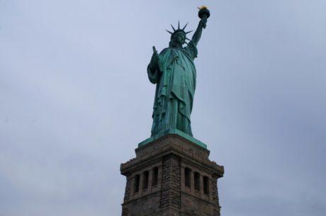 Америка, САЩ, статуя, архитектура, пътуване, скулптура, пиедестал, поддръжка