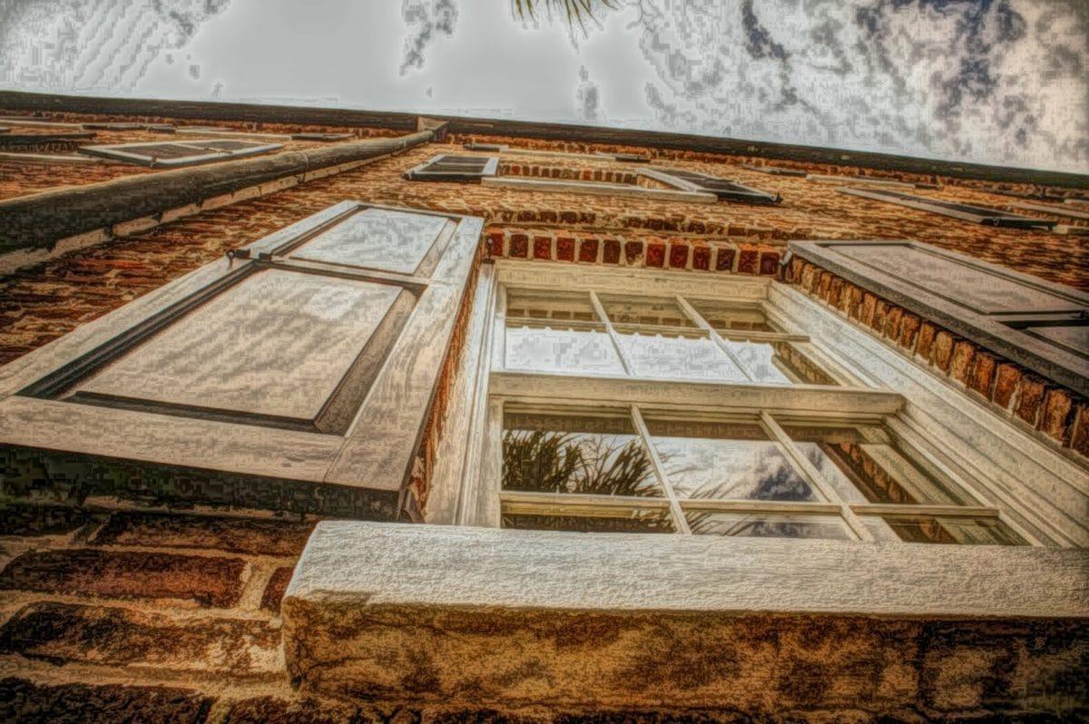 Аннотация, Картина маслом, Архитектура, Построение, Храм, путешествия, дом, дерево