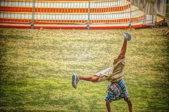 sport, herbe, compétition, gens, Recreation, à l'extérieur, jeu, Loisirs