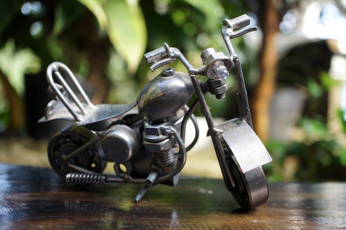 en détail, métalliques, miniature, objet, en acier inoxydable, volant de direction, jouet, véhicule