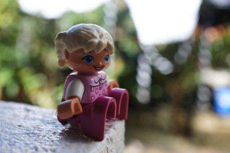 プラスチック, グッズ, おもちゃ屋, 人形, 子, 赤ちゃん, 少し, 楽しい