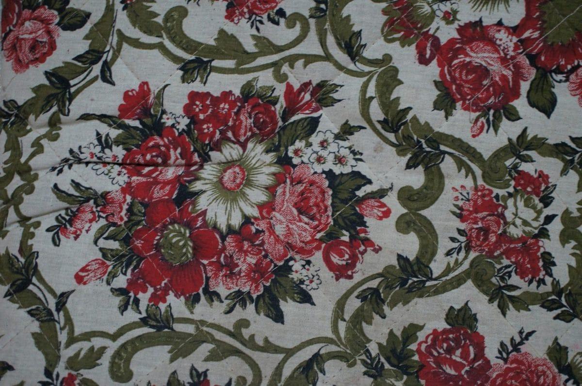 cvijet, ručni rad, tekstilna, tkanina, list, pamuk, dekoracija, flore